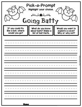 Pick-a-Prompt (Freebie Writing Prompts)