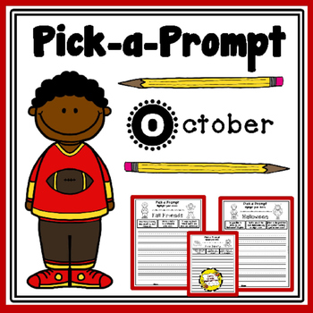 Pick-a-Prompt (October Writing Prompts)