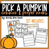 Pick a Pumpkin: Common vs. Proper Nouns