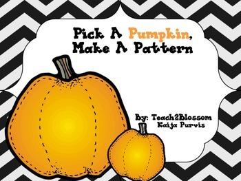 Pick a Pumpkin, Make a Pattern!