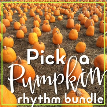 Pick a Pumpkin Rhythm Game {Bundled Set}