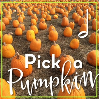 Pick a Pumpkin Rhythm Game: half note
