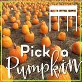 Pick a Pumpkin Rhythm Game: tiri-tiri (sixteenth notes)