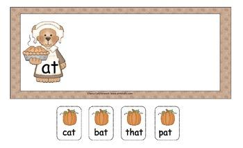 Pick a Pumpkin! Short A Sort Literacy Center