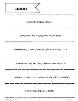 Pick a Story (Dragons)
