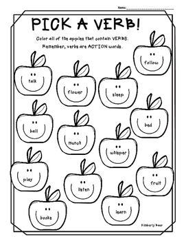 esl coloring pages for nouns - photo#23