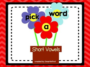 Pick a Word Short Vowel Center