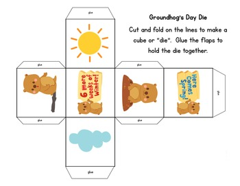 Pick and Read OR Roll and Read: Groundhog Day - Contains all 220 Sight Words
