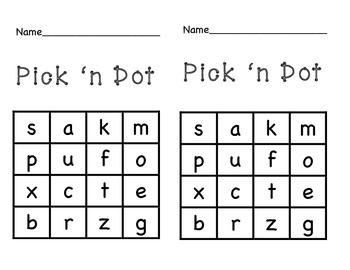 Pick 'n Dot Game