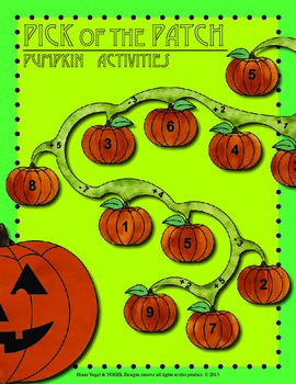 2nd Grade Common Core - Pick of the Patch - Pumpkin Activities
