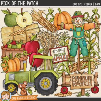 "Pumpkin Patch Clip Art: ""Pick of the Patch"""