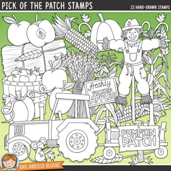 "Pumpkin Patch Clip Art: ""Pick of the Patch"""