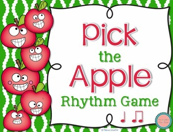 Pick the Apple Rhythm Practice Game {Ta TiTi}