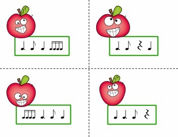 Pick the Apple Rhythm Practice Game {Tam Ti}
