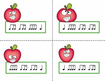 Pick the Apple Rhythm Practice Game {Ti Tika}