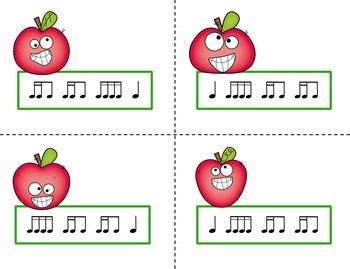 Pick the Apple Rhythm Practice Game {Tika Ti}
