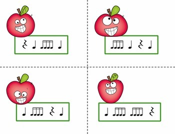 Pick the Apple Rhythm Practice Game {Tika Tika}