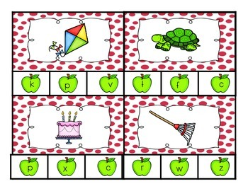 Pick the Beginning Sound! {Worksheets & Clothespins!}