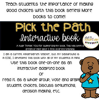 Goldilocks: An Interactive Adapted Book where YOU pick the ending!