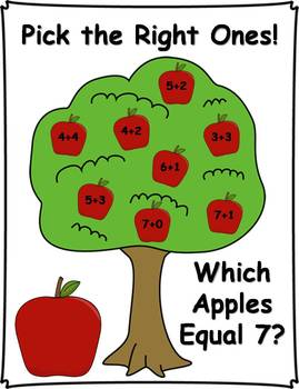 Pick the Right One! Addition and Subtraction Activities