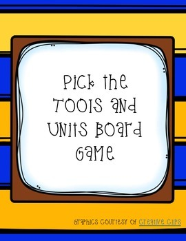 Pick the Units and Tools File Folder Board Game