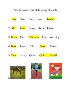 Pick the noun
