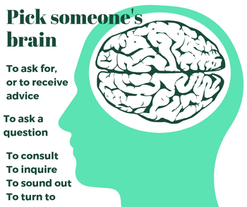 Pick up someone's brain