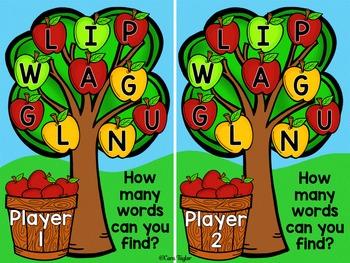 Pickin' Apples Game Freebie