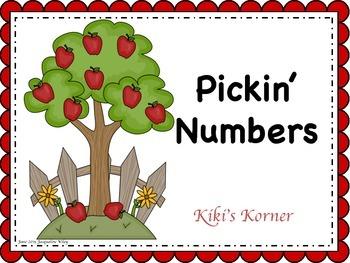 Apples, Pickin Math Apples - Math fall