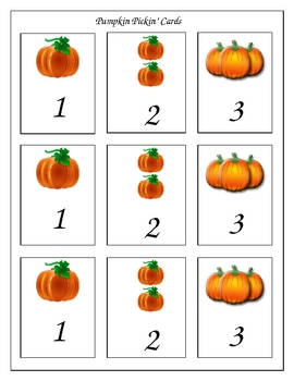 Pickin Pumpkin Subtraction Word Problems