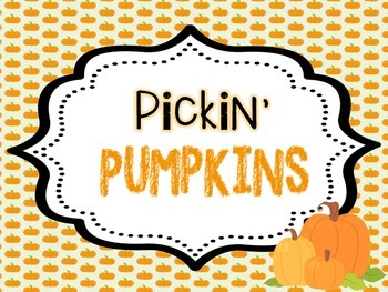Pickin' Pumpkins {Pumpkin Investigation Journal}