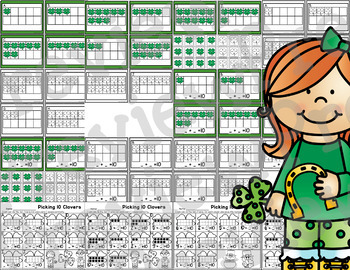 Picking 10 Clovers - Addition to 10