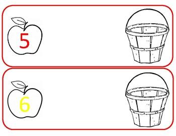 Picking Apples Math Activity