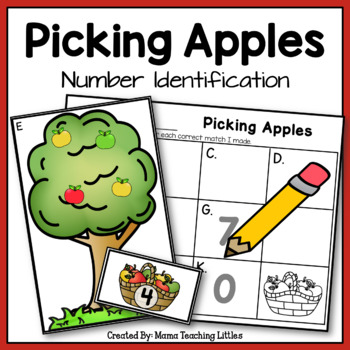 Picking Apples - Number Identification