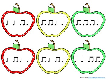 Picking Apples - Rhythm Games: ta and titi