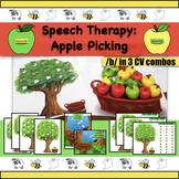 Speech Therapy - Articulation - Apraxia - /b/ CV level