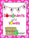 Picking Consonants and Vowels