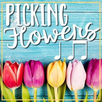 Picking Flowers {ta and titi}