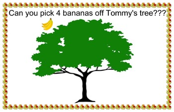 Picking Fruits Off Tommy's Fruit Tree