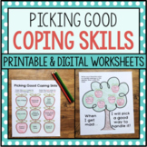 Coping Skills Worksheets For Anger Management Lessons