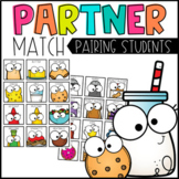 Picking Partners - Pairing Students - Partner Cards