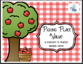 Picking Place Value: A craftivity to practice place value