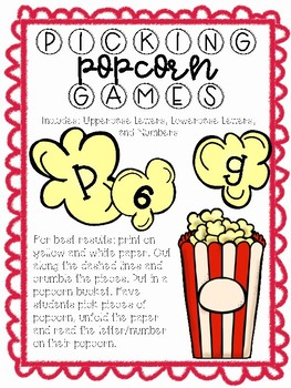Picking Popcorn Games