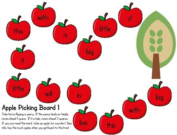 Picking Sight Words
