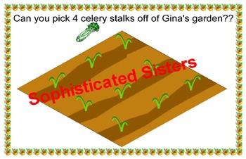 Picking Veggies From Gina's Garden