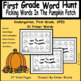 Picking Words In The Pumpkin Patch - PP, Primer, and First Grade Word Bundle