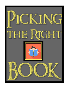 """Picking a """"Just Right"""" Book"""