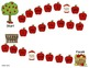 Picking for Apples - Game boards focusing on CVC words, so