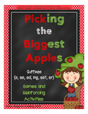 Picking the Biggest Apples (suffix endings)