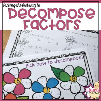 Picking the Best Way to Decompose Factors for the Distribu